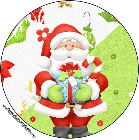 Adesivo Para Lembrancinha Natal