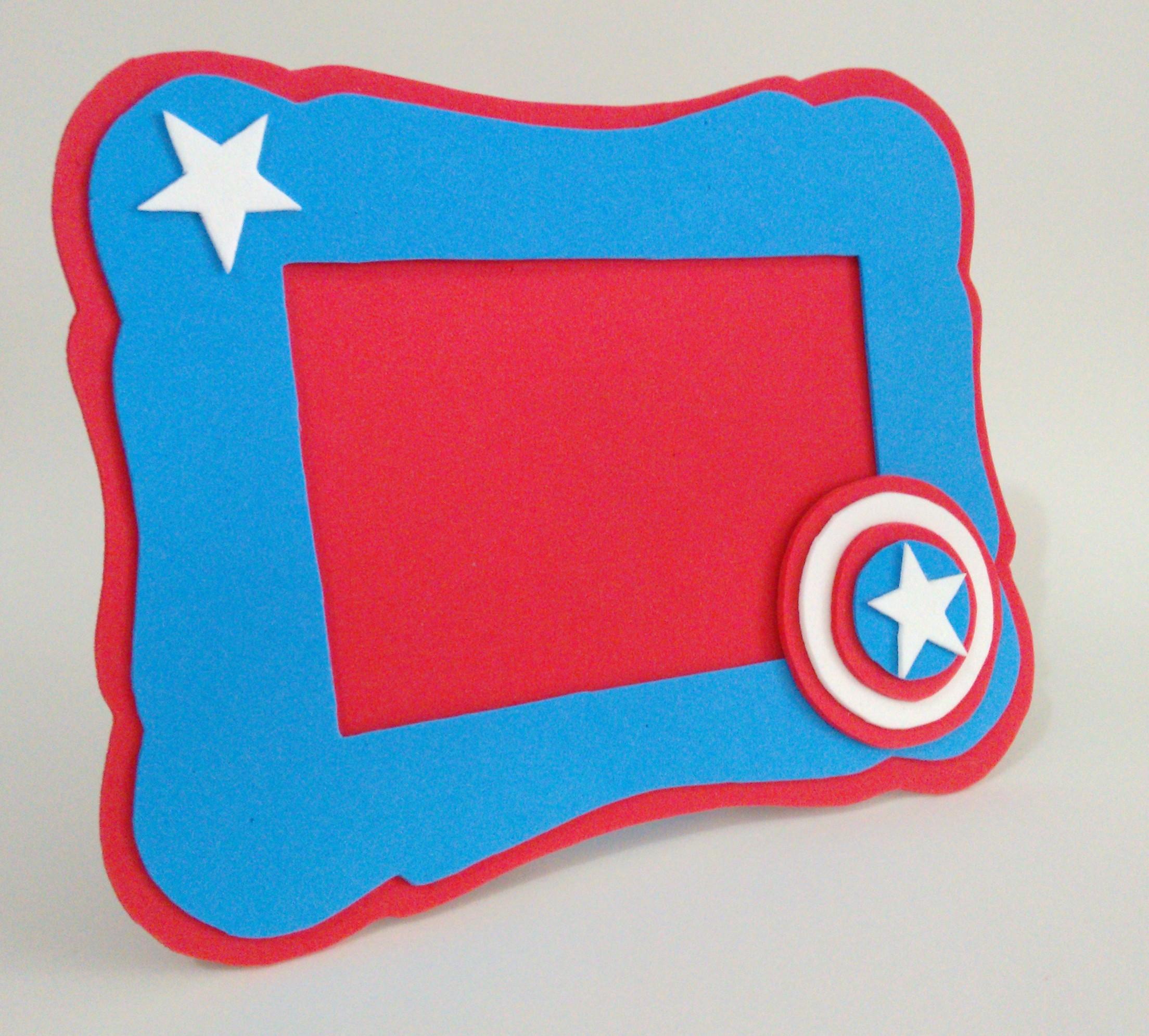 Lembrancinha Capitão América Em E.V.A.