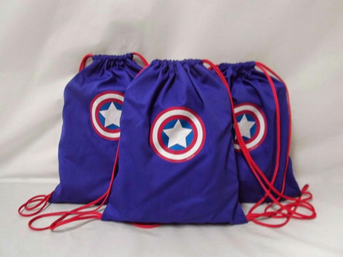 Lembrancinha Capitão América Mochila