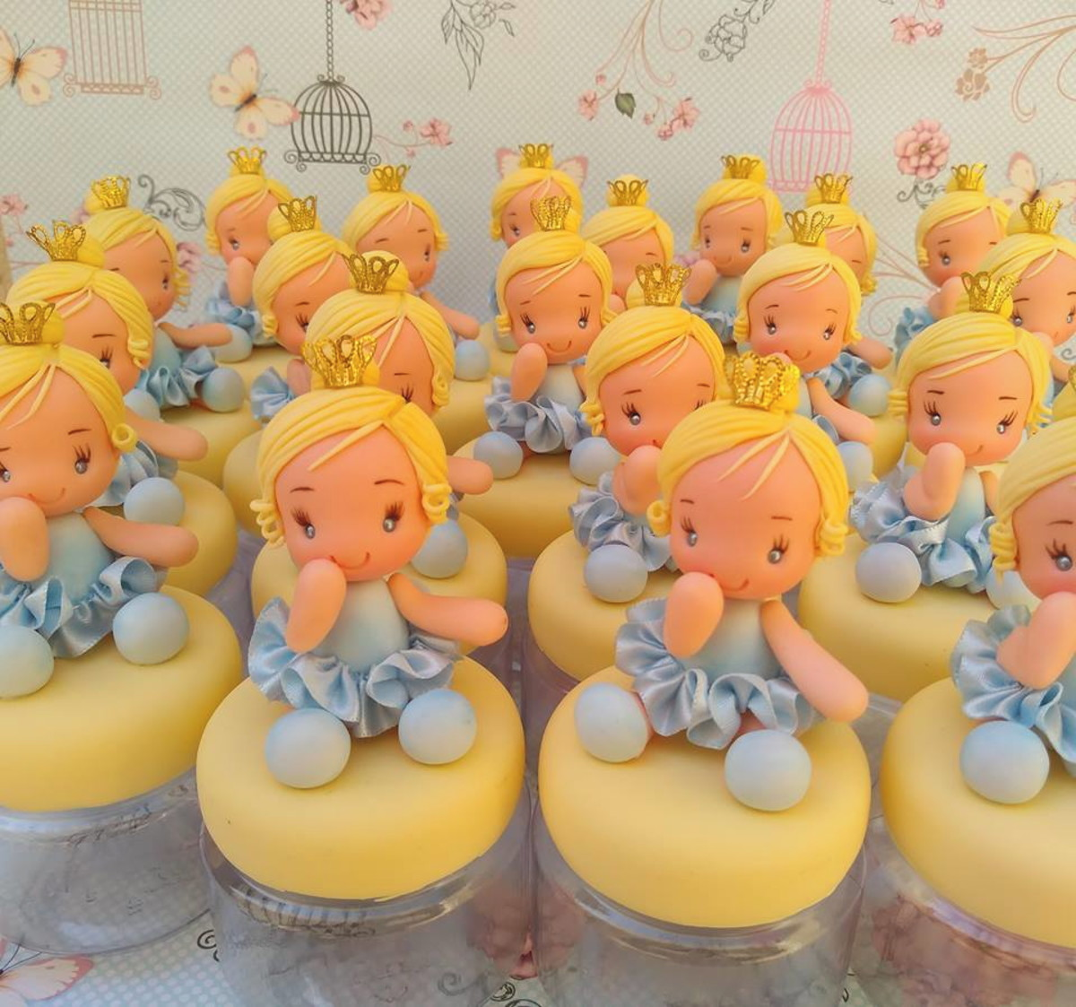 Lembrancinha Cinderela Biscuit