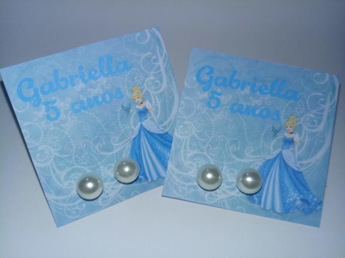 Lembrancinha Cinderela Festa Infantil