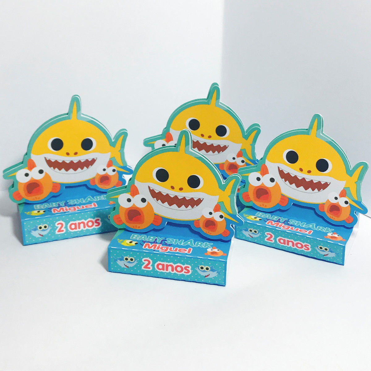Lembrancinha Personalizada Baby Shark