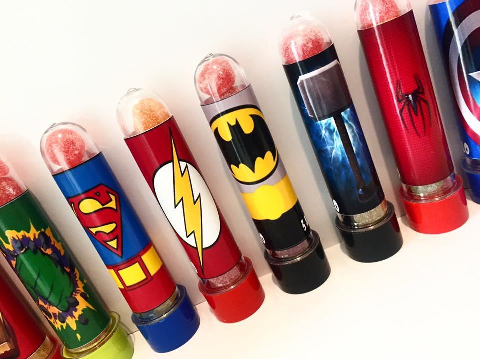 Lembrancinha Super-Heróis Aniversário