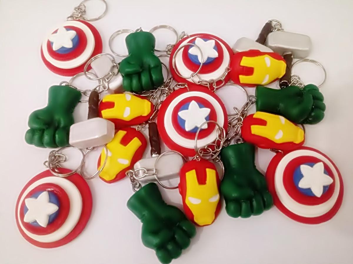 Lembrancinha Super-Heróis Biscuit