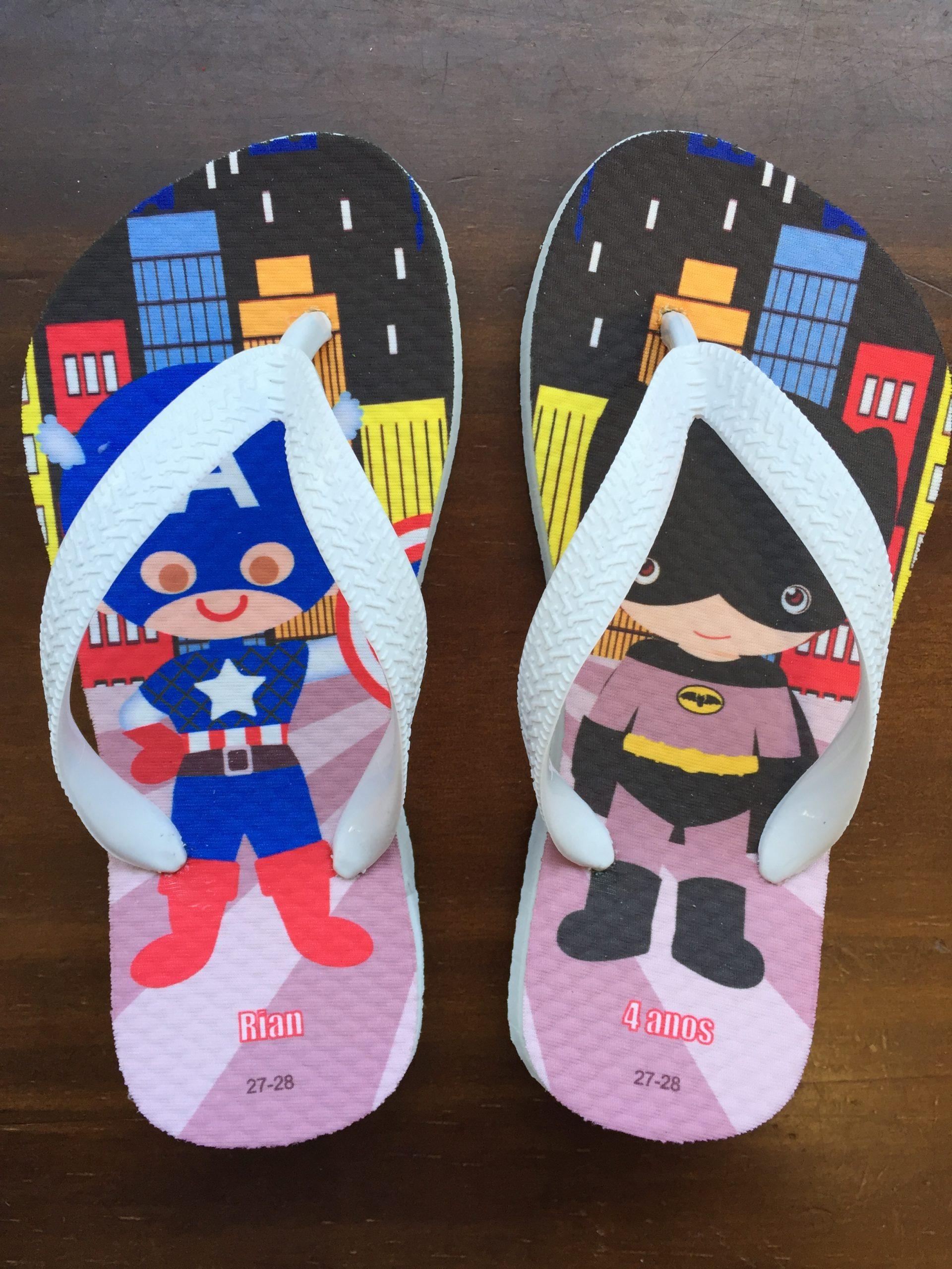 Lembrancinha Super-Heróis Cute