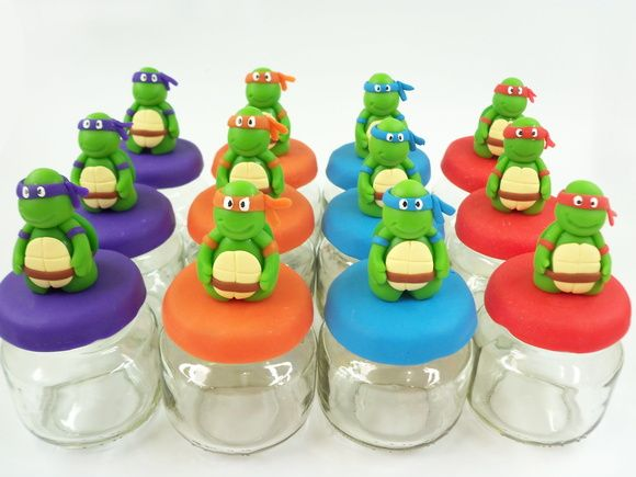 Lembrancinha Tartaruga Ninja Biscuit