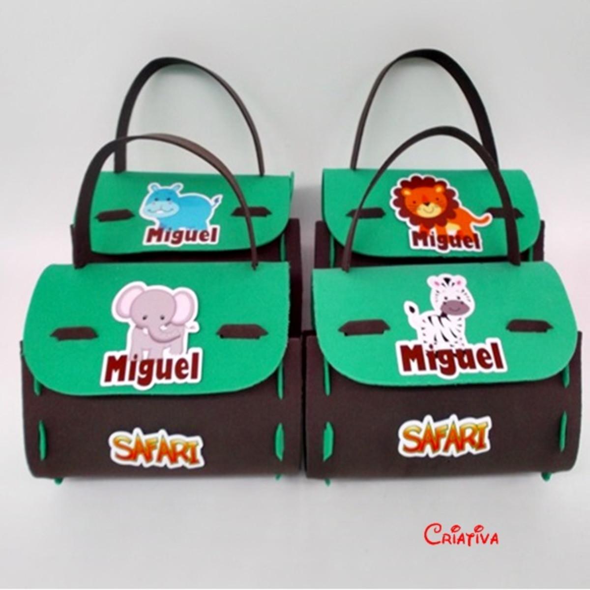 Sacolinha Surpresa Safari