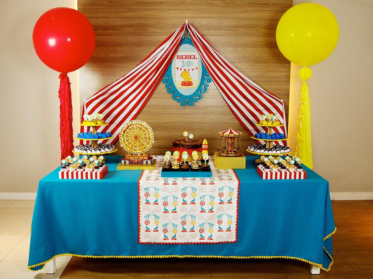 Festa de aniversário simples 1 ano