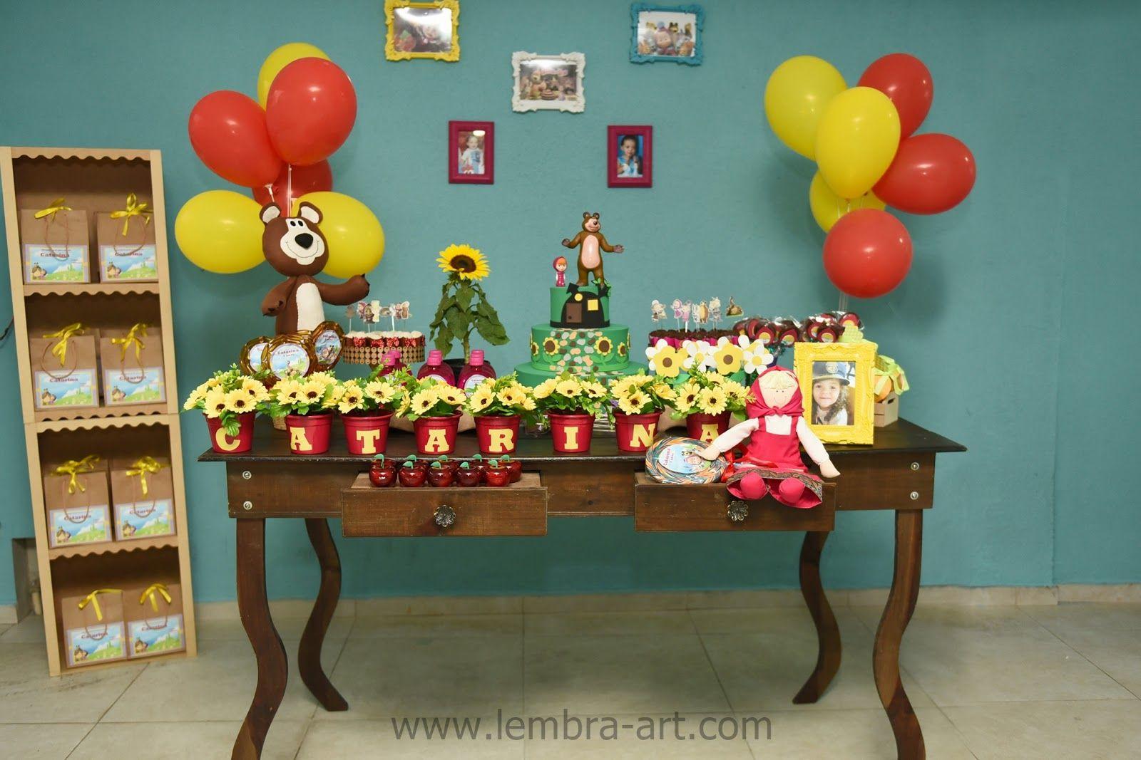Festa de aniversário simples 3 anos