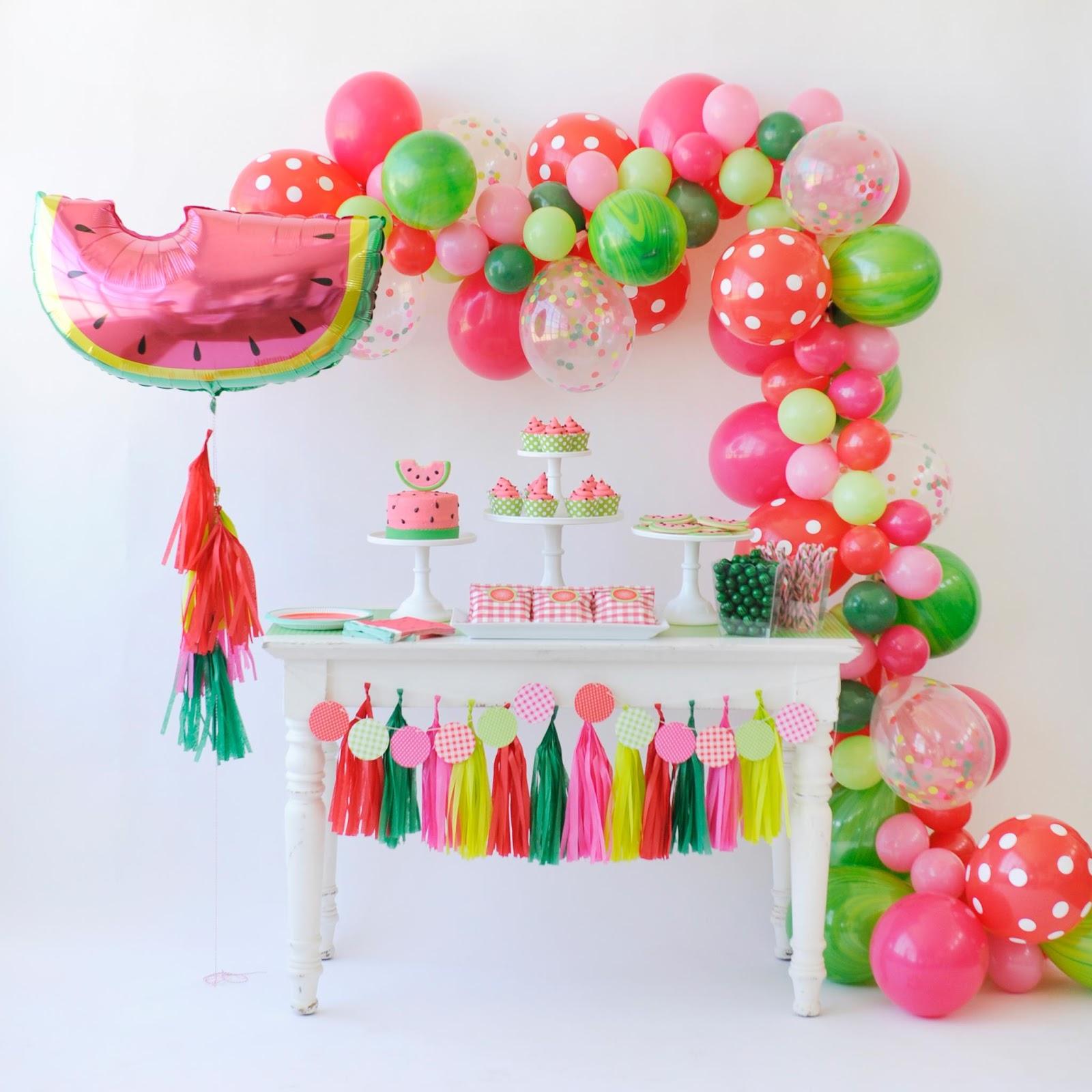 Festa de Melancia Simples