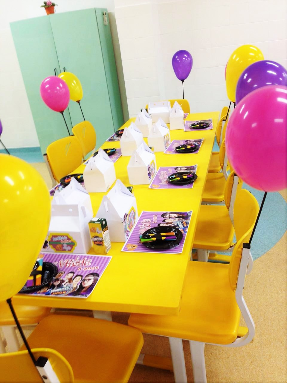 Festa na escola Simples