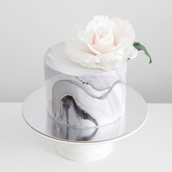Bolo bodas de cristal Simples
