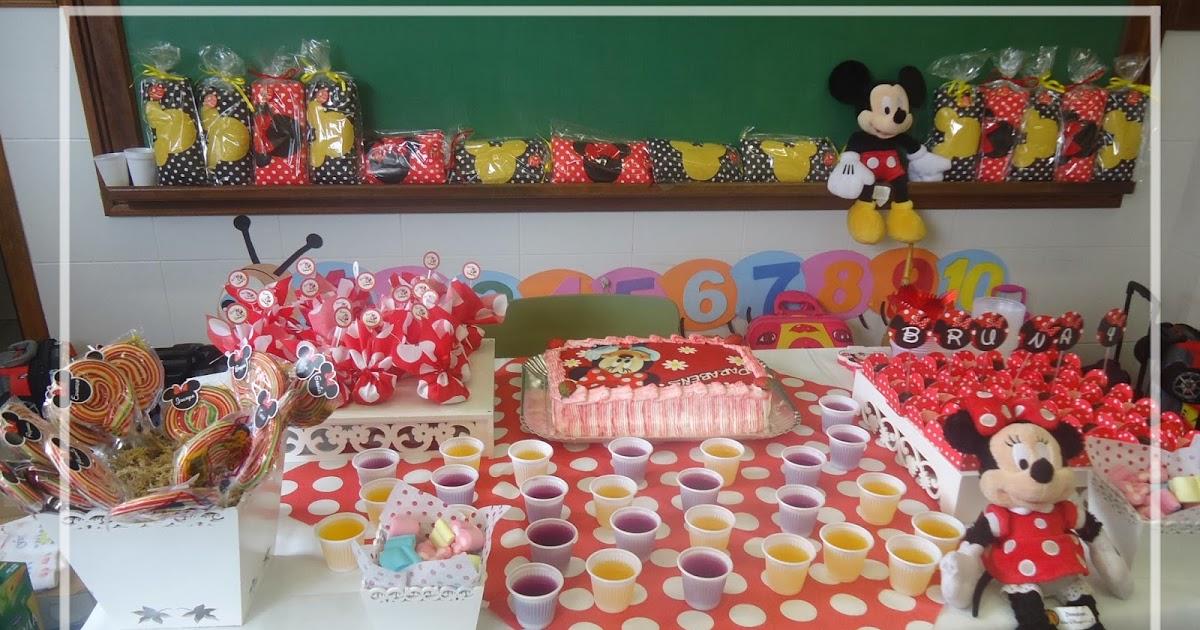 Festa na escola Minnie