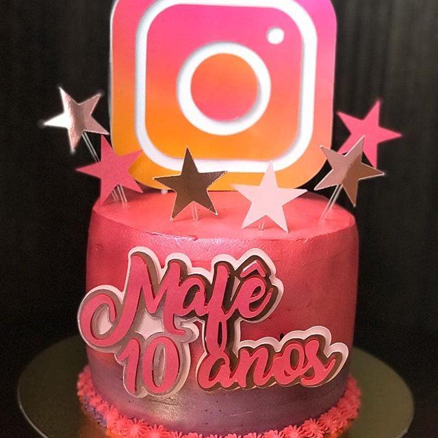Bolo instagram: Infantil