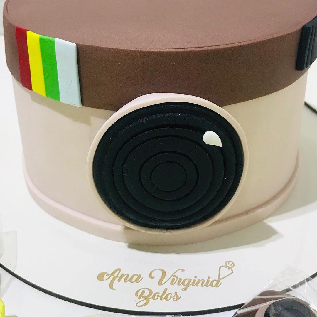 Bolo instagram: Pasta americana