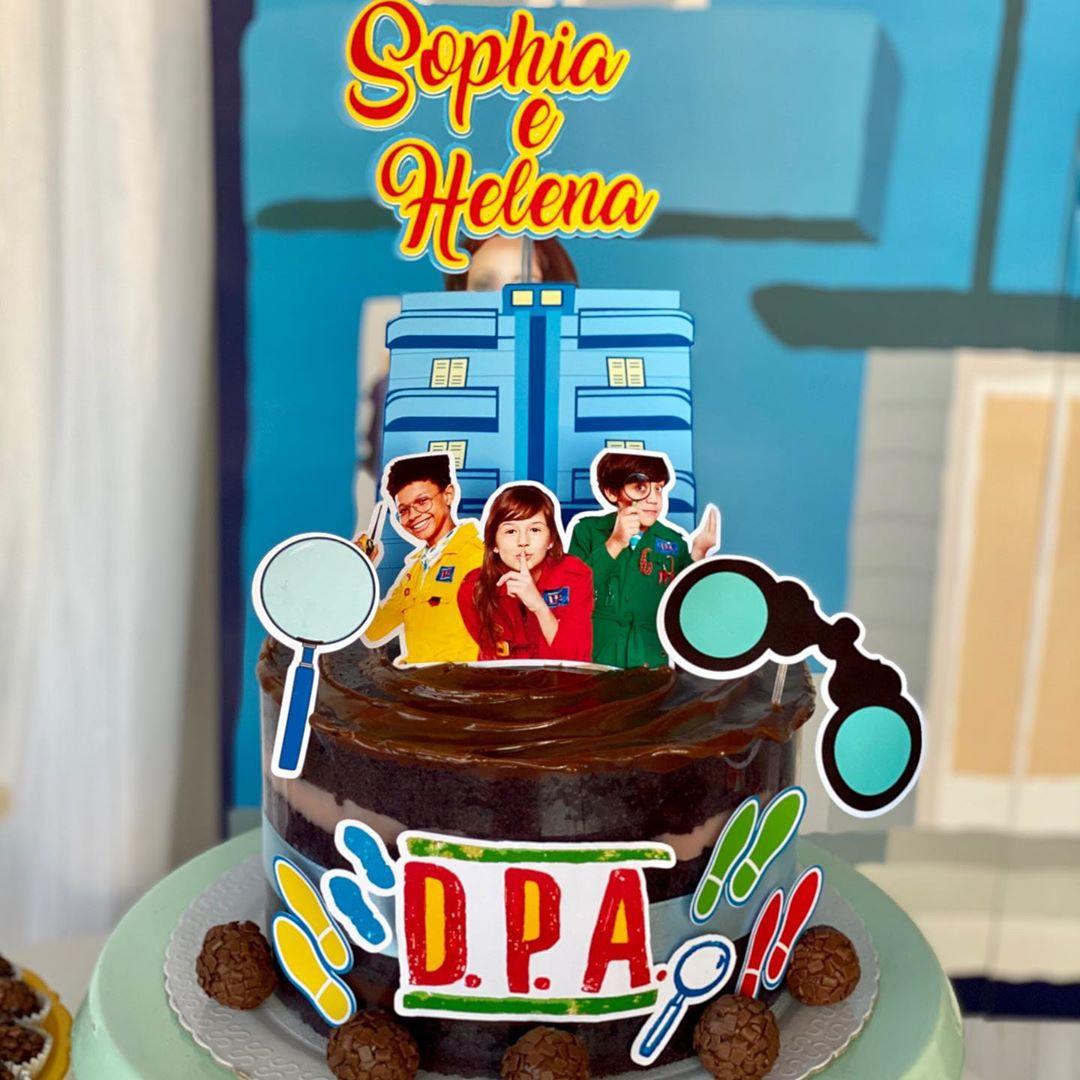 Bolo DPA Com topper