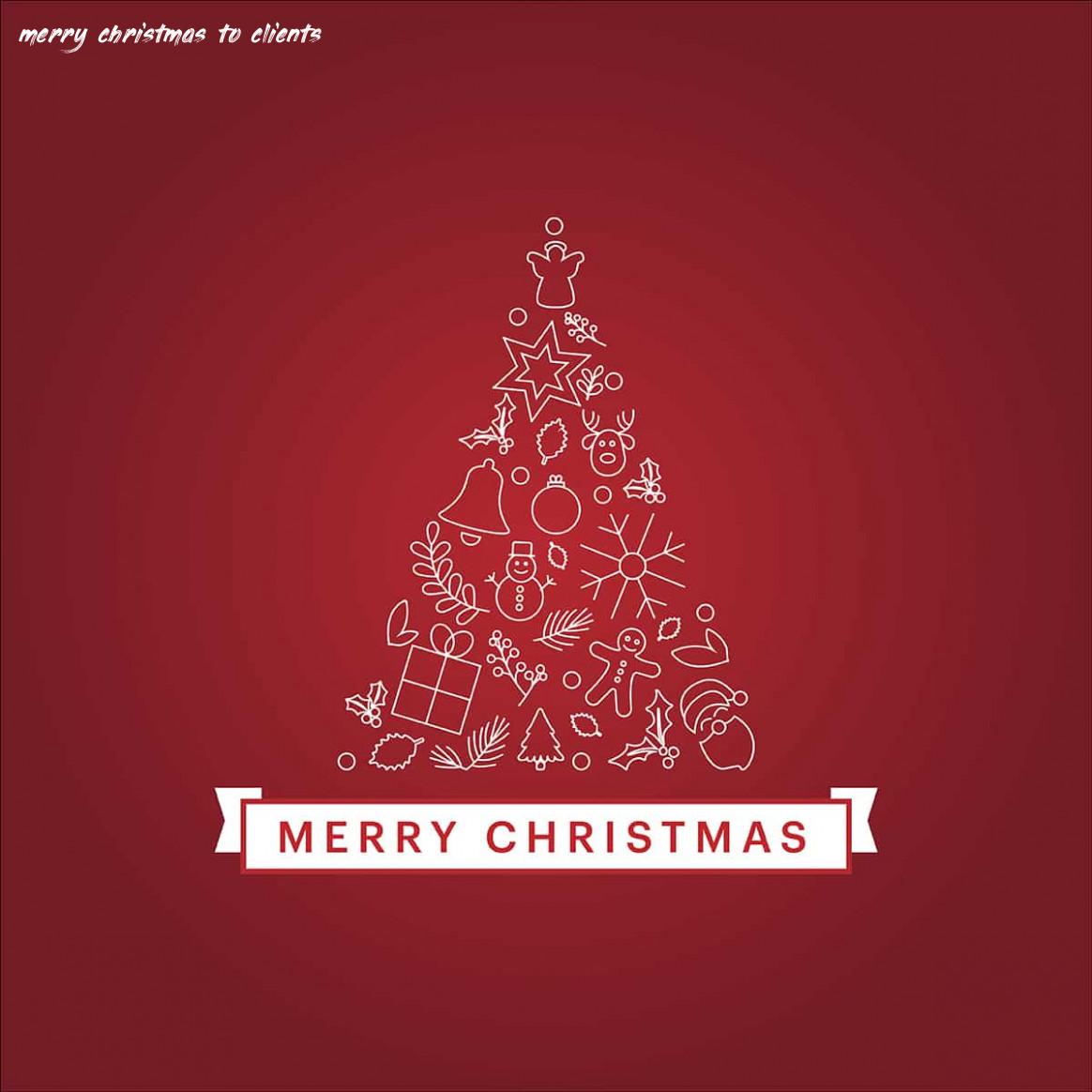 Cartões de Natal Clientes
