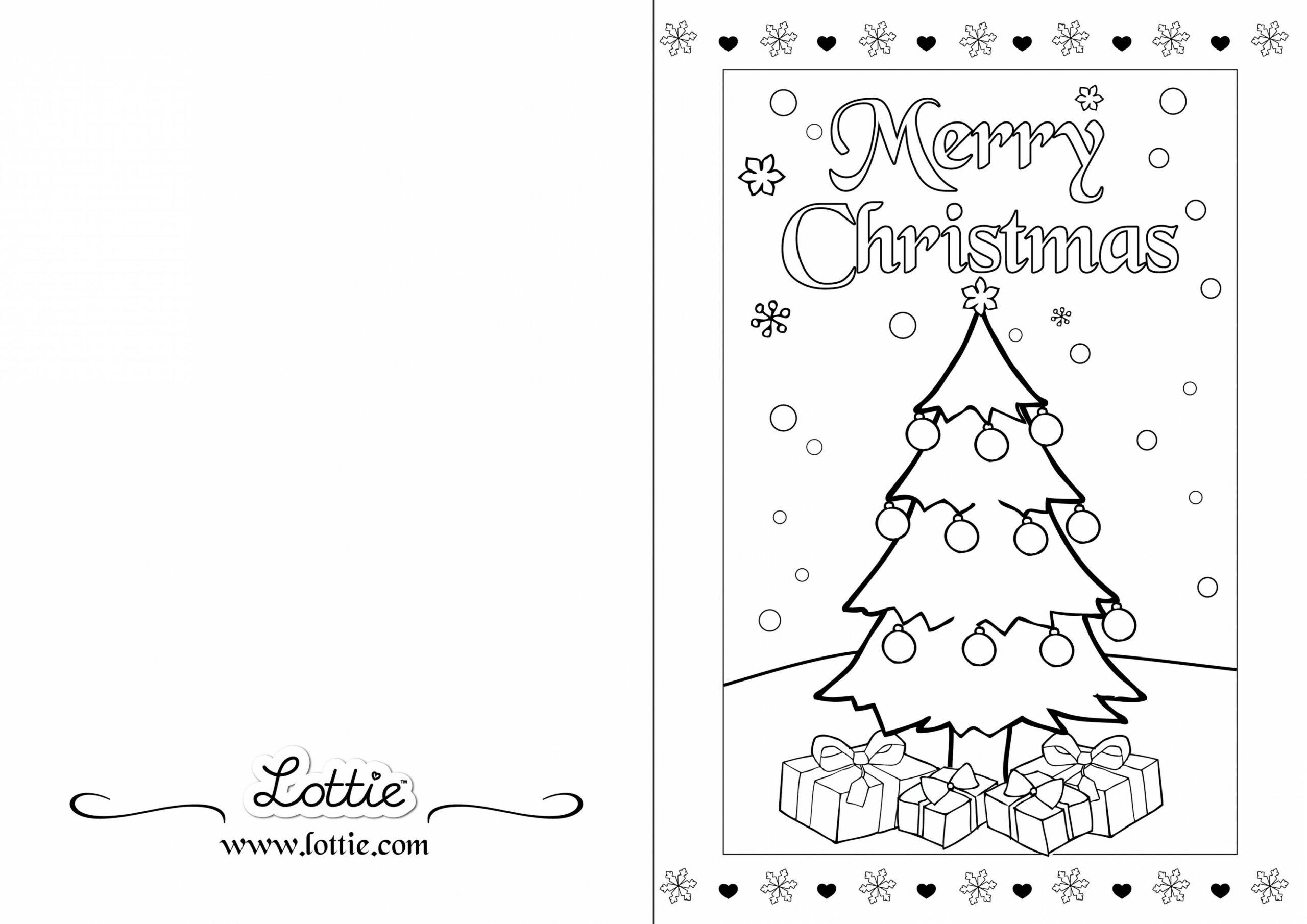 Cartões de Natal Colorir