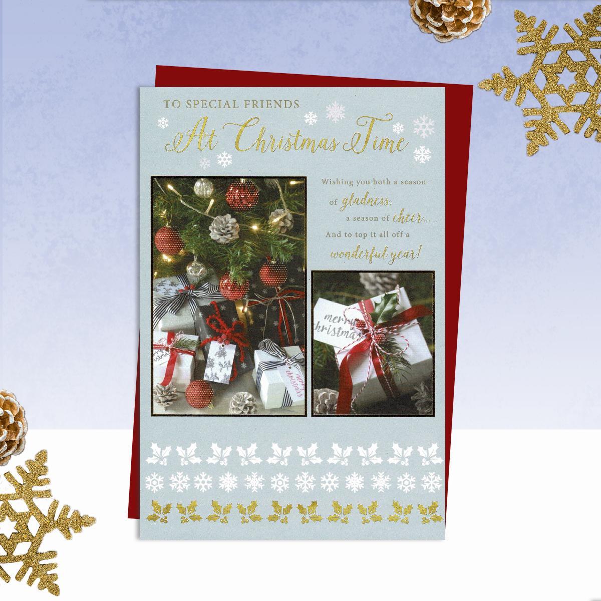 Cartões de Natal Para amigos