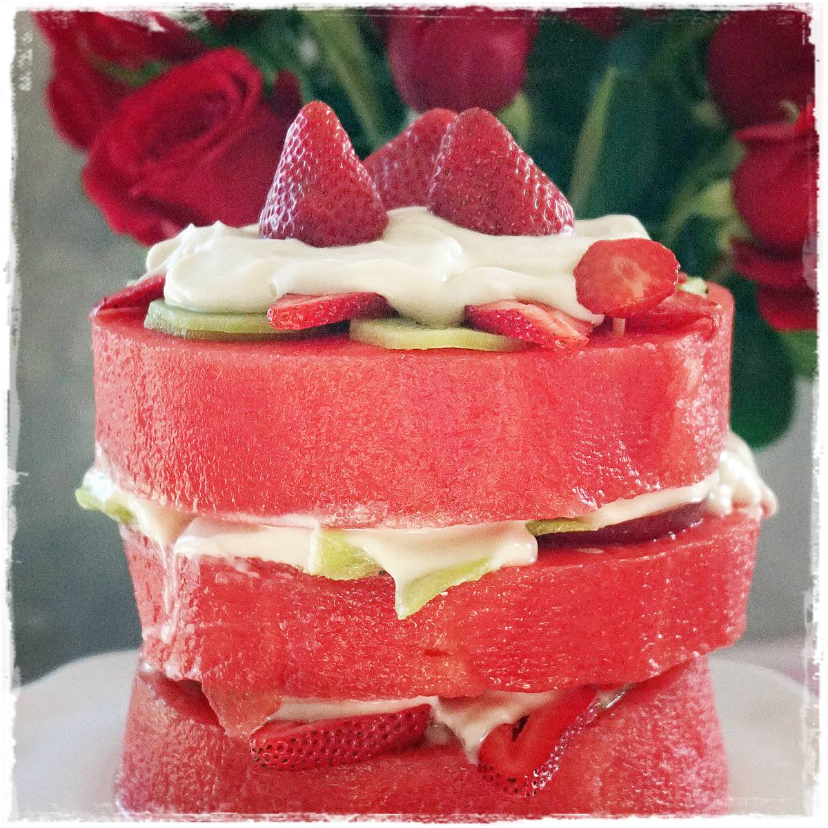 bolo de melancia melancia fruta