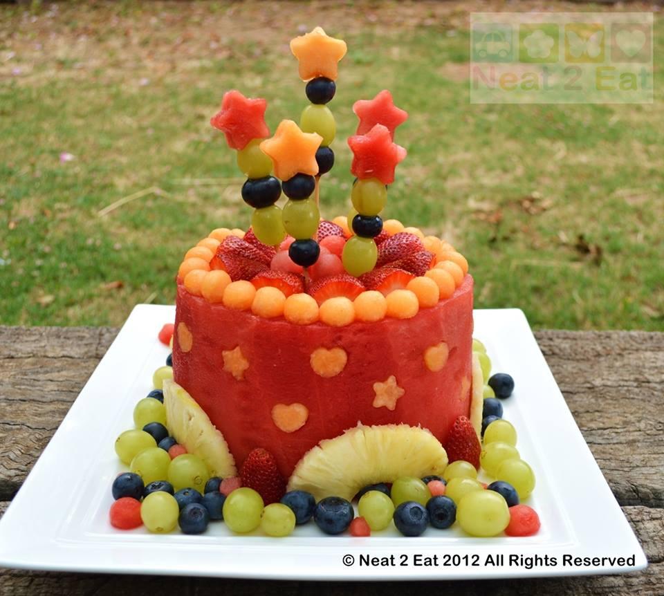 bolo de melancia mesversario