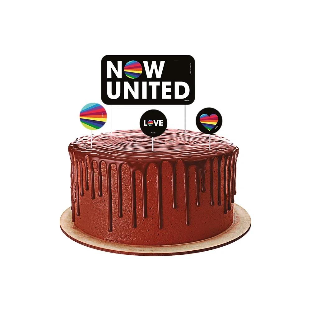Bolo Now United Redondo