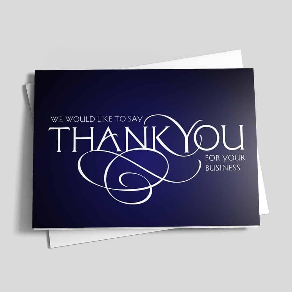 Tag de Agradecimento Ao cliente