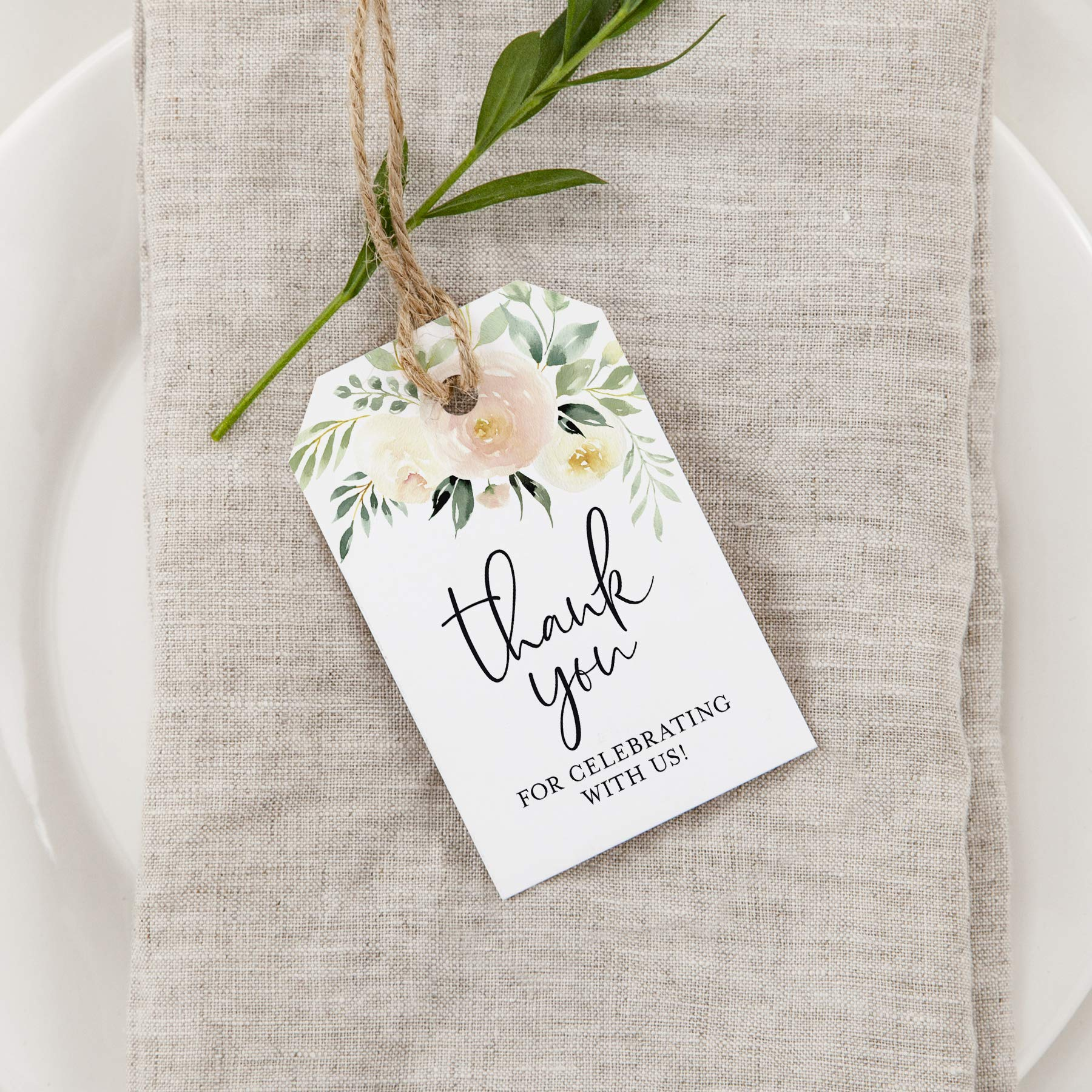 Tag de Agradecimento Casamento