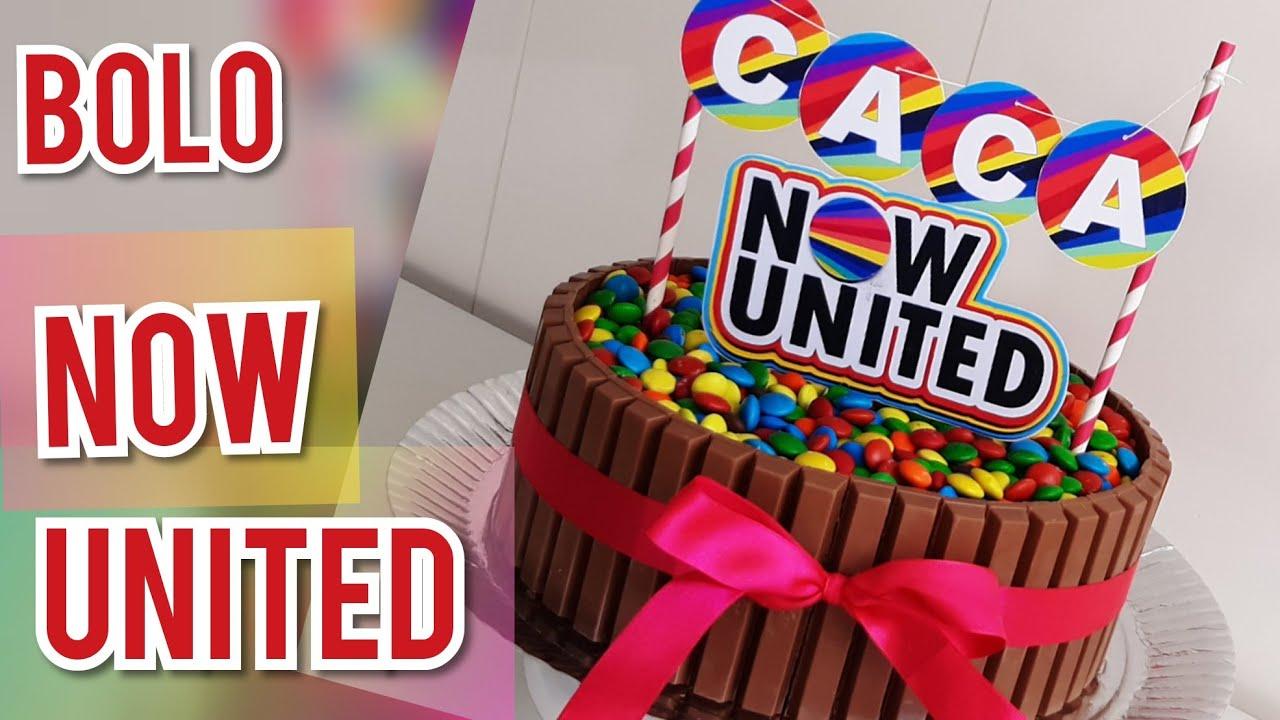 Bolo Now United Preto