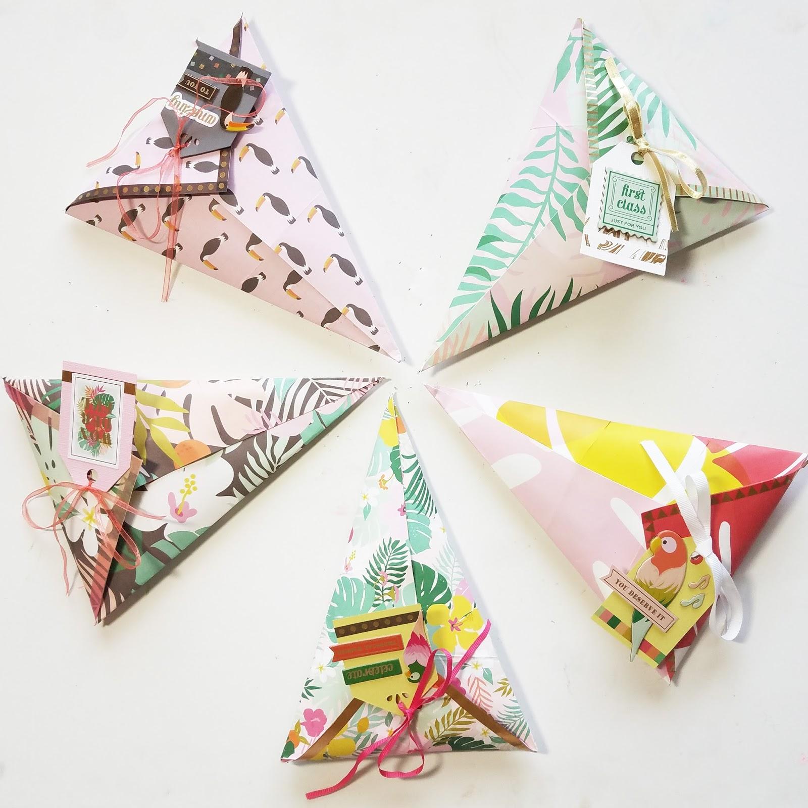 Como fazer Cone de papel Para Lembracinhas