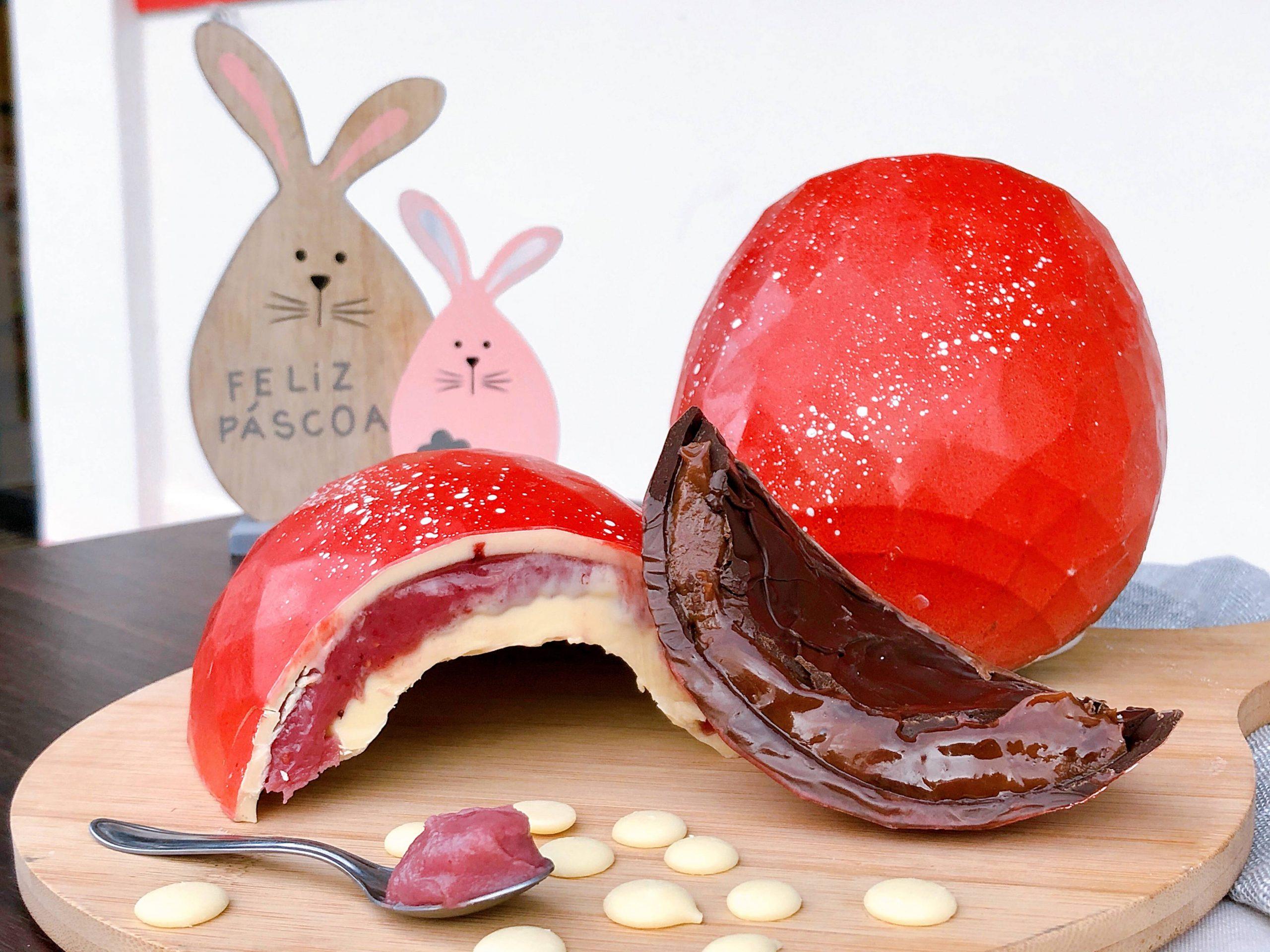 Ovos de Páscoa Recheado