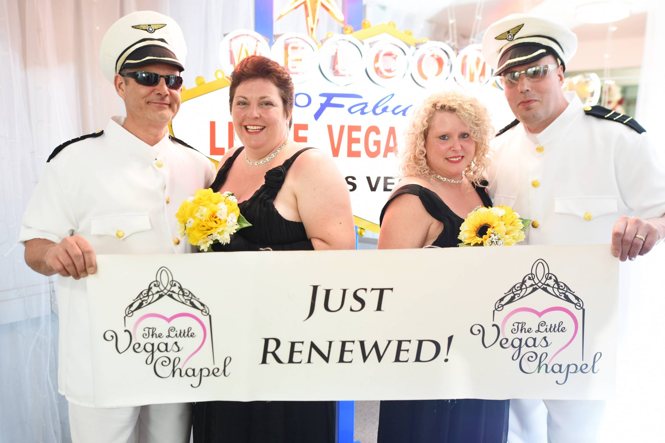 Renovação de votos Em Las Vegas