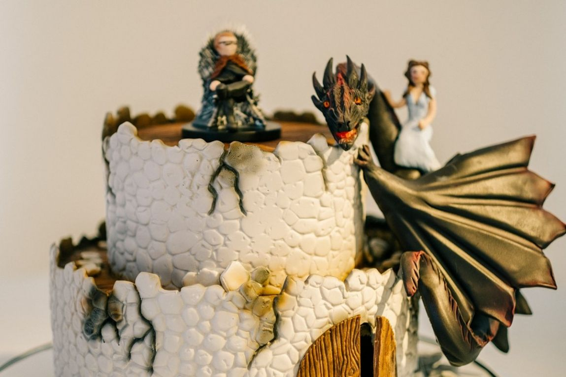 Bolo Game Of Thrones DecoradoBolo Game Of Thrones Decorado