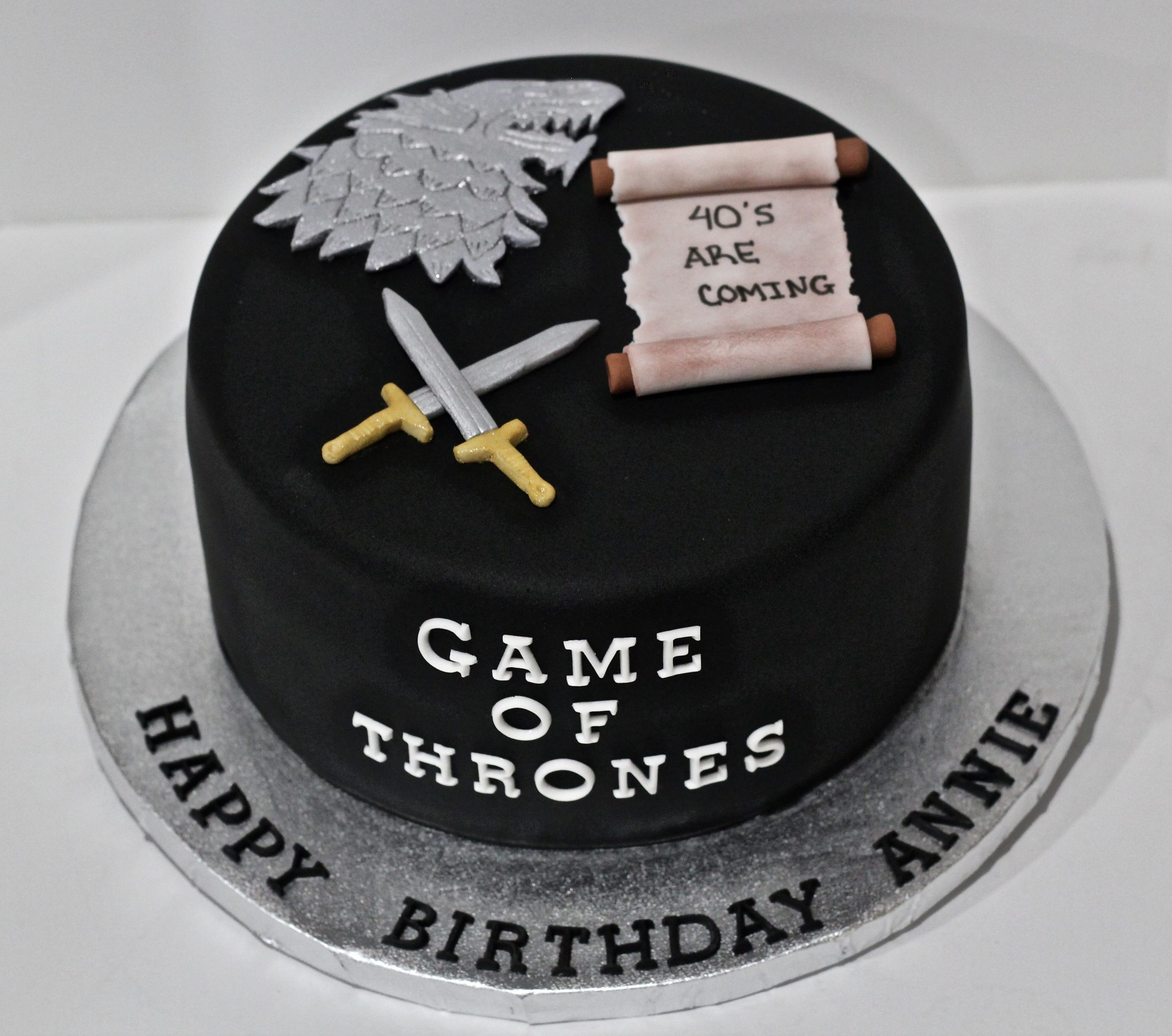 Bolo Game Of Thrones StarkBolo Game Of Thrones Stark