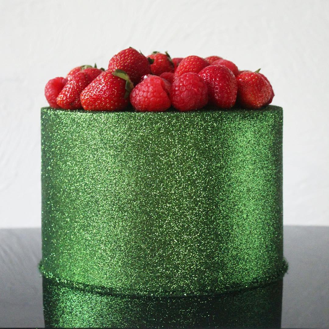 Bolo Glow Cake Verde