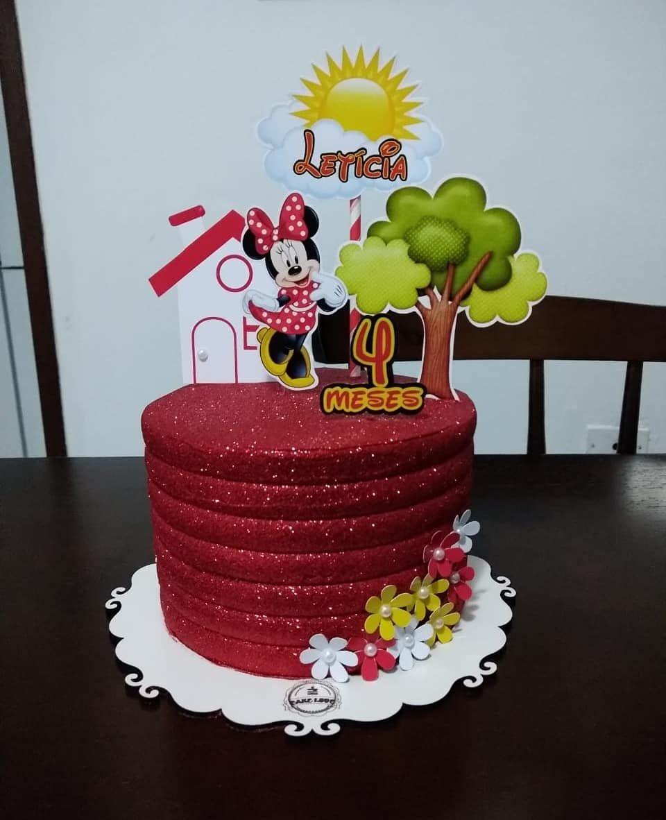 Bolo Glow Cake Vermelho