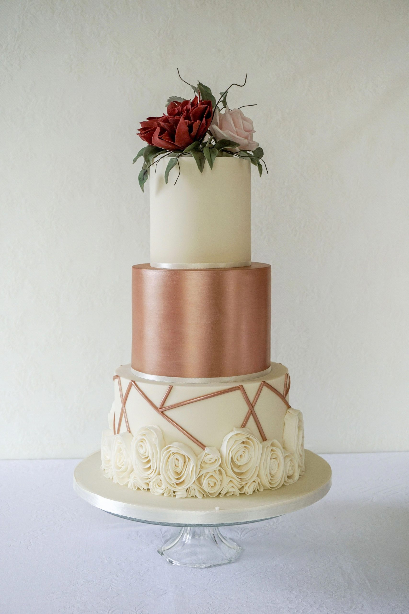Bolo Glow Cake Rose Gold