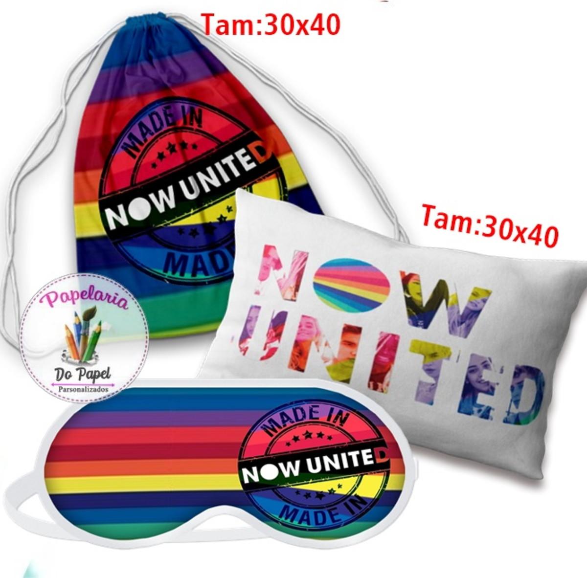 Lembrancinhas Now United Ideias