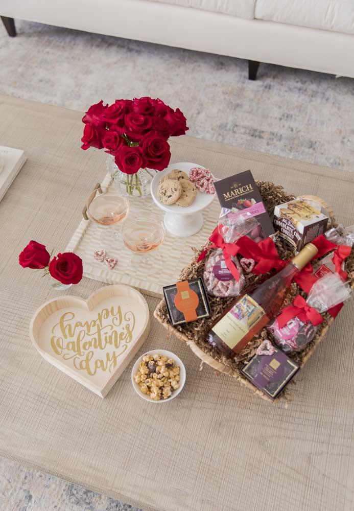 Surpresa para Namorada Simples