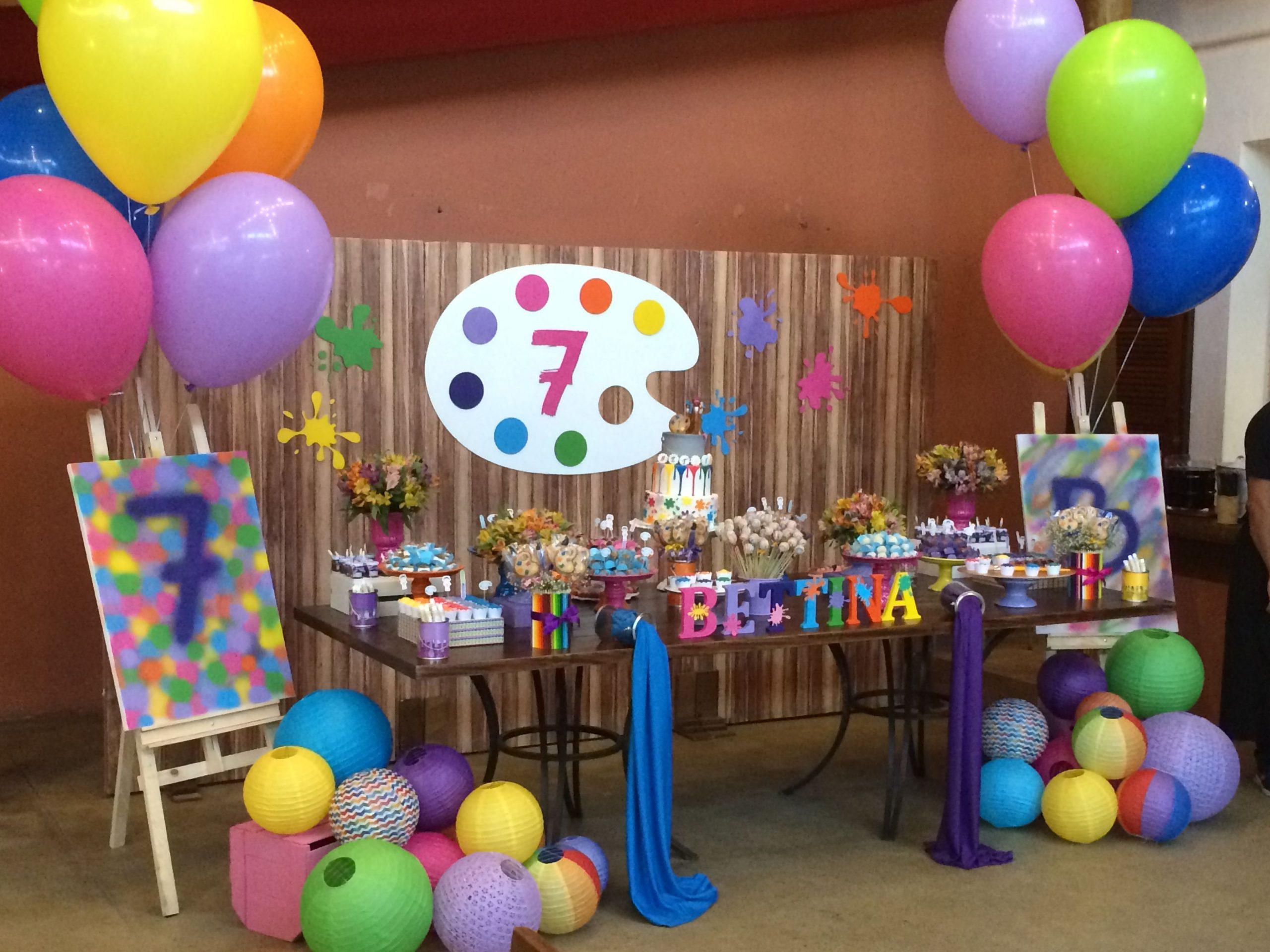 Balões de festas Coloridos