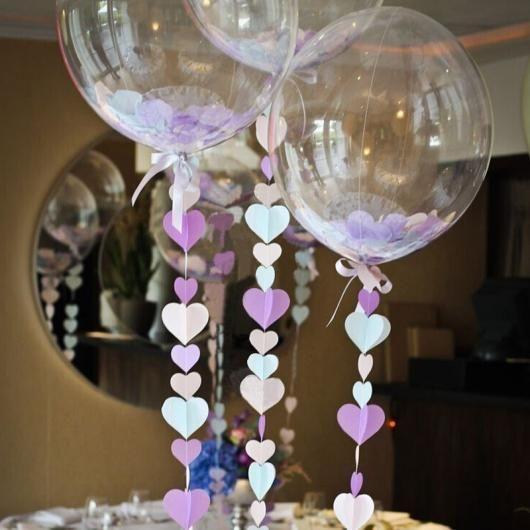Balões de festas Ideias com balões