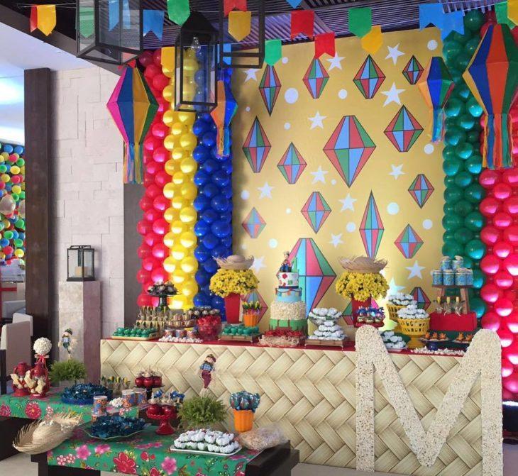 Balões de festas Juninas
