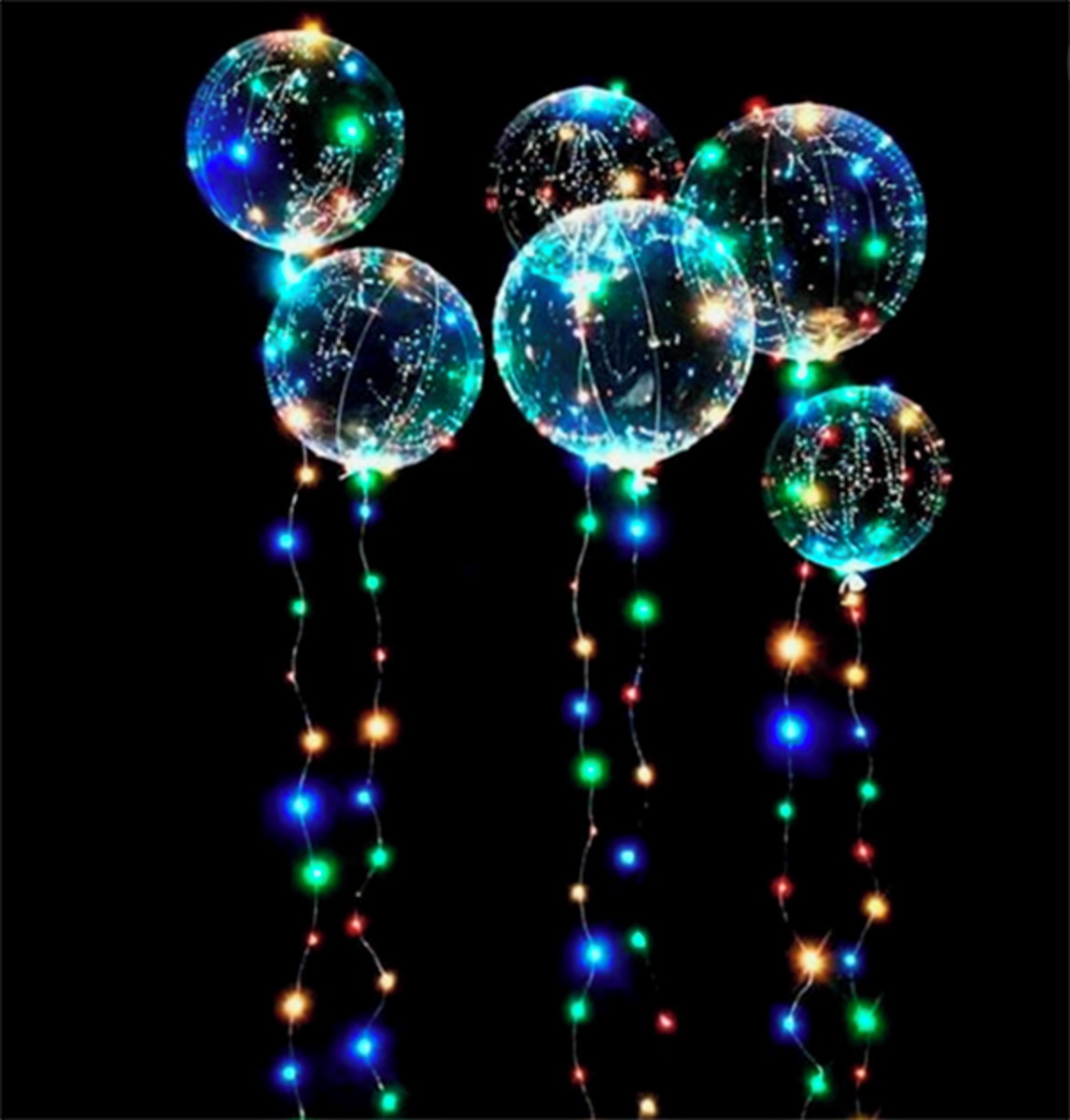 Balões de festas Tipos