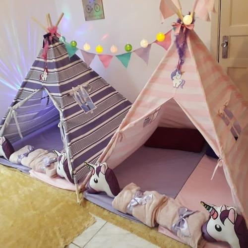 Cabana para festa do pijama Como fazer
