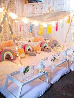 Cabana para festa do pijama Infantil