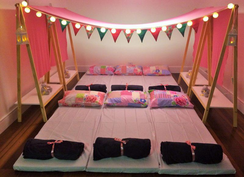 Cabana para festa do pijama Juvenil