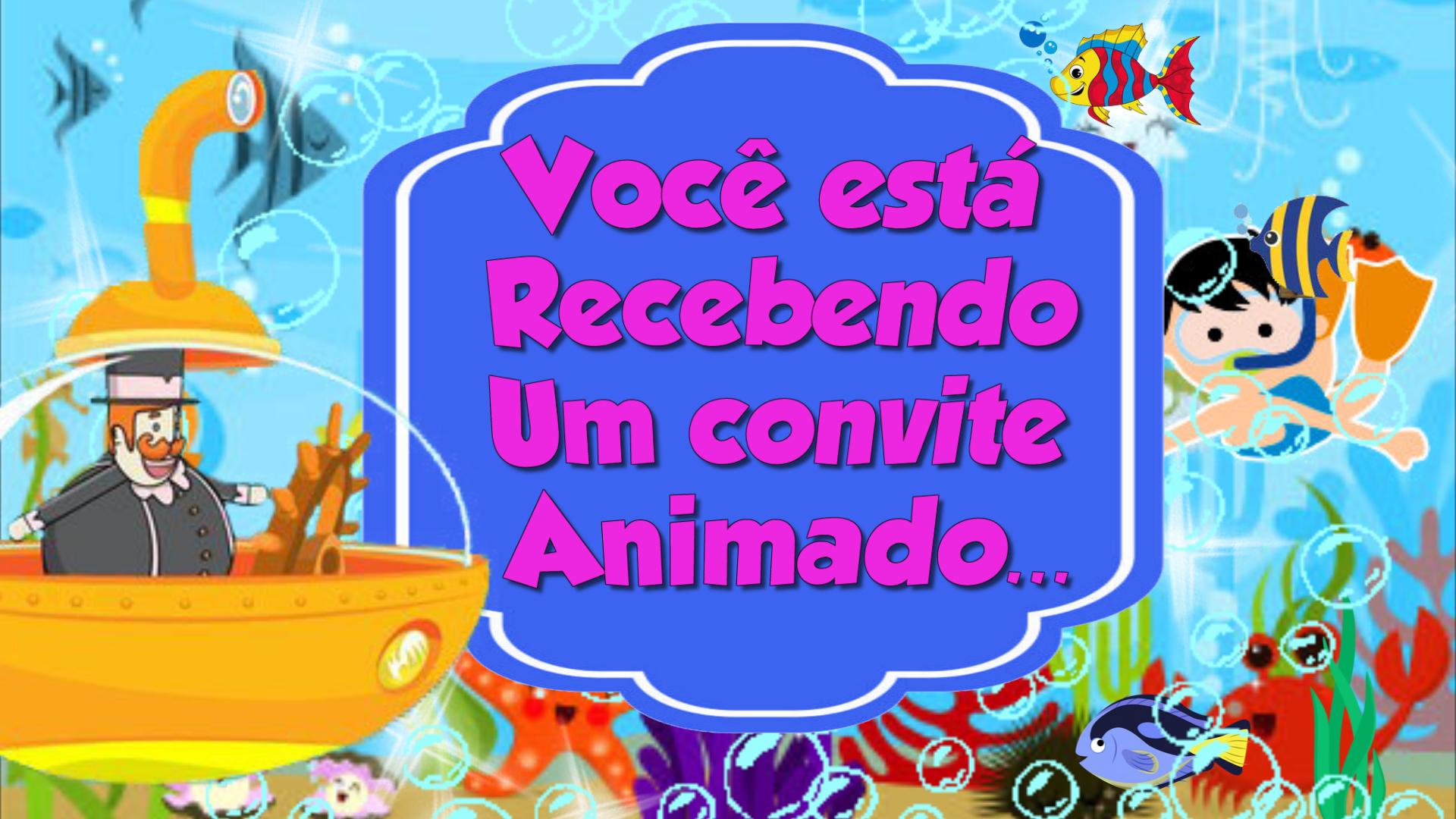Convite Animado Mundo Bita