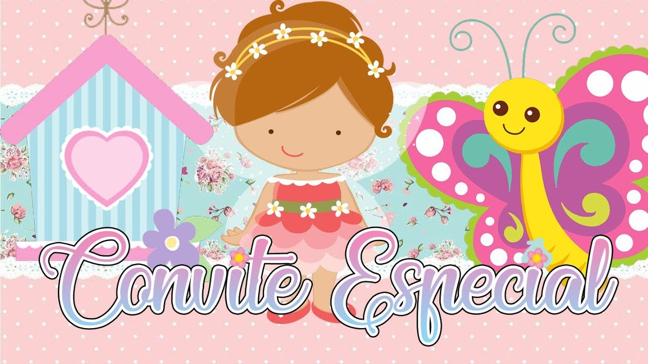 Convite Animado Simples