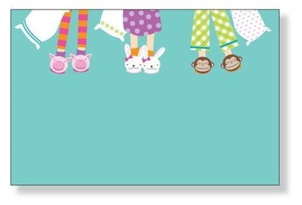 Convite de festa do pijama Para editar