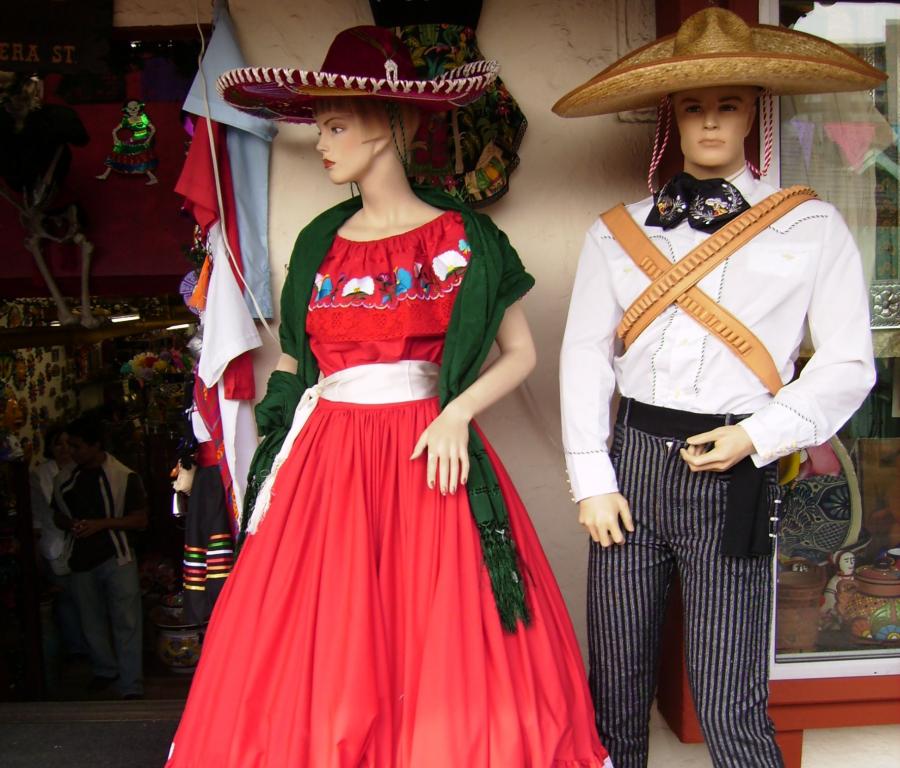 Festas Mexicanas O que vestir